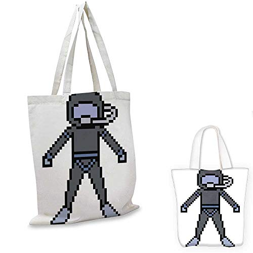- canvas shoulder bag vector pixel art dive underwater