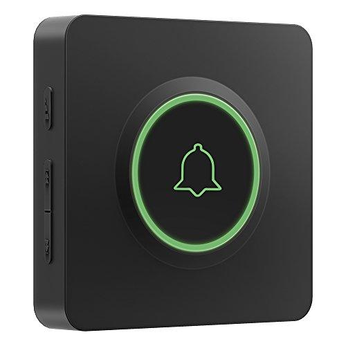 [해외]AVANTEK 무선 초인종 (녹색 등)/AVANTEK Wireless Doorbell (Green Light)