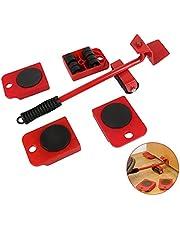 Brastoy Kit 5 Movedor Rodinhas Para Mudança De Móveis Grandes