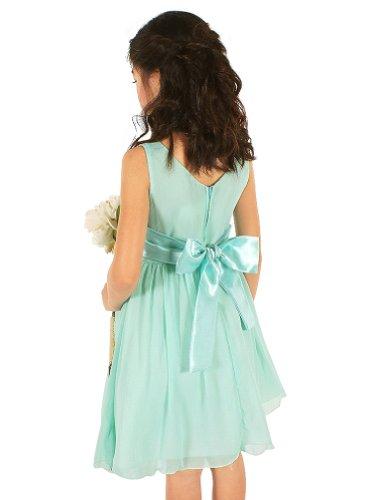 My Best Kids Yoru Chiffon Flower Girl Dress-Royal Blue-12