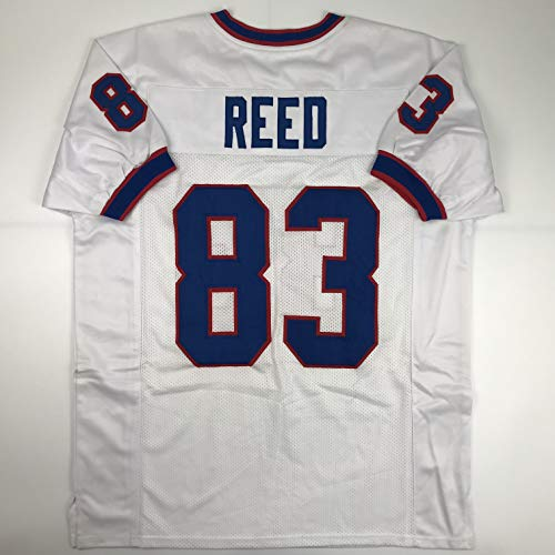 Unsigned Andre Reed Buffalo White Custom Stitched Football Jersey Size Men's XL New No Brands/Logos