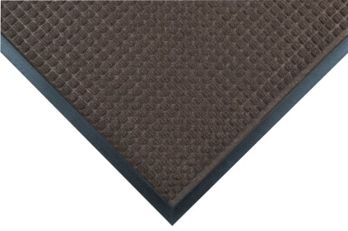 Notrax 166 Guzzler Entrance Mat, for Lobbies and Entranceways, 2' Width x 3' Length x 1/4'' Thickness, Brown by NoTrax Floor Matting
