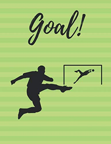 GOAL!: HIgh school or youth soccer planner, Drills and skills book, Coaching -