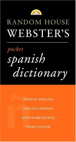 Diccionario español/inglés - inglés/español: Random House Webster's Pocket - Grammar English Webster