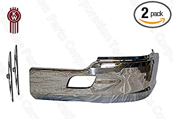 Kenworth T680 Chrome Bumper Passenger Right Side