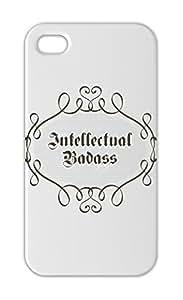 Intellectual Badass Iphone 5-5s plastic case