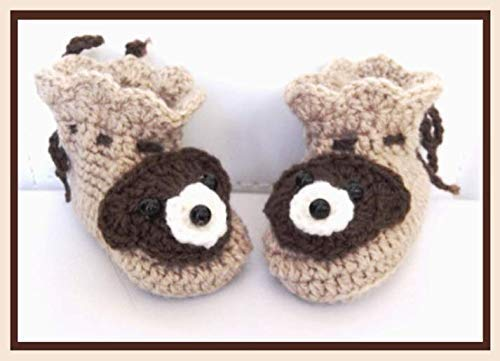 Babyschuhe geh/äkelt Babyschuhe Baby Geschenk Baby Booties Babyschuhe Bear 0-3 monate Bear Baby Booties