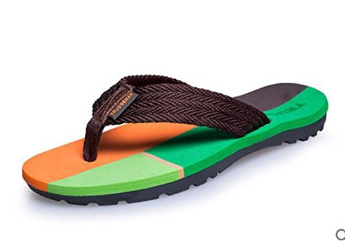 Verano nuevo par modelos sandalias resbaladizas playa flip flops sandalias de ocio 1