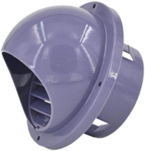 LXLTL Rejilla De Ventilación PP de plástico Vent Cowl para Todos Los Sistemas de Ventilación de Ventilación de Pared 100mm,Gray100mm: Amazon.es: Hogar