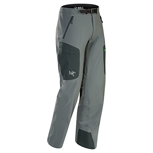 Gamma Shell Pants - Arc'teryx Gamma MX Softshell Pant - Men's Nautic Grey, XL/reg