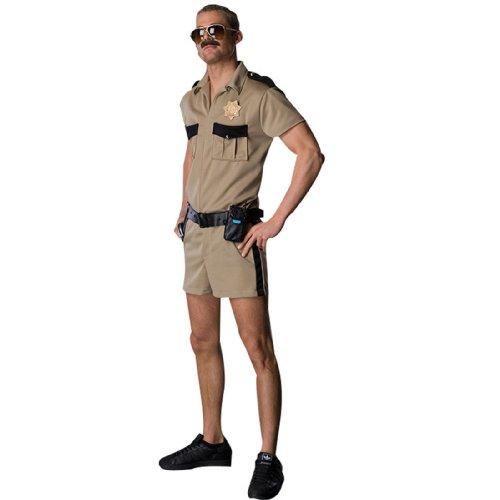 Reno 911 Dangle Costume, Brown, Standard