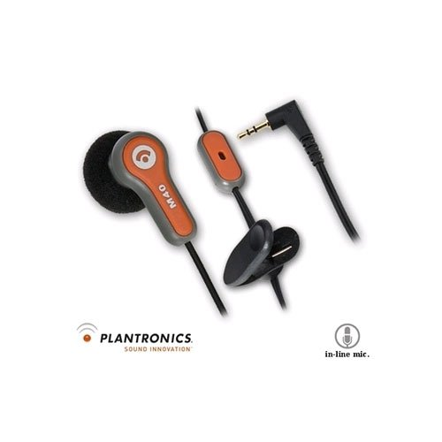 Plantronics M40 In The Ear Headset w/ 2.5mm Plug