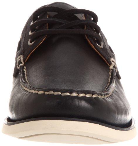 Black Shoe Lauren Boat Bienne Ralph Polo Cream Men's BRqnPO