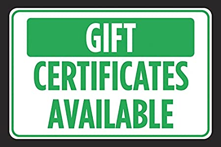 Amazon.com: Certificados de regalo disponible Verde Negro ...