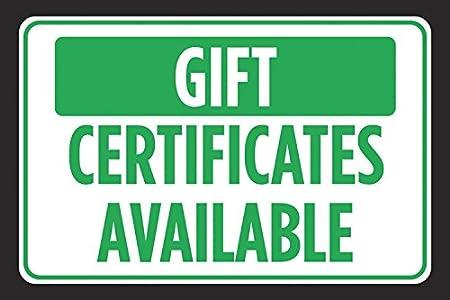 Amazon.com: Certificados de regalo disponible Verde Negro ...