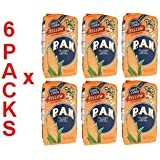 Amazon.com : Harina PAN 6 PACK White Corn Meal Flour 6 x 1