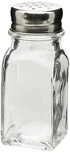 Saleiro/pimenteiro Quadrado 50ml Parma Brinox Aço Inox