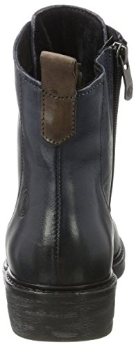 Women's Natural Boots 25202 Navy Combat Be Blue d5w18qd4