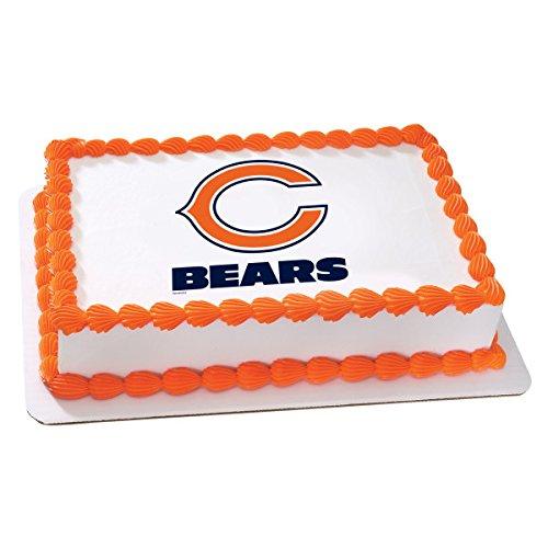 NFL Chicago Bears Licensed Edible Sheet Cake Topper