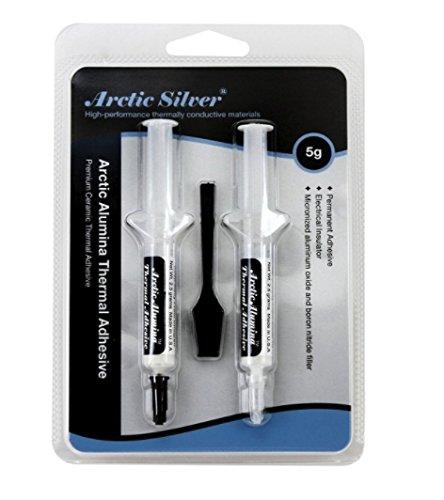 Arctic Silver Arctic Alumina 5g Premium Ceramic Thermal Cooling Adhesive Set (AATA-5G)