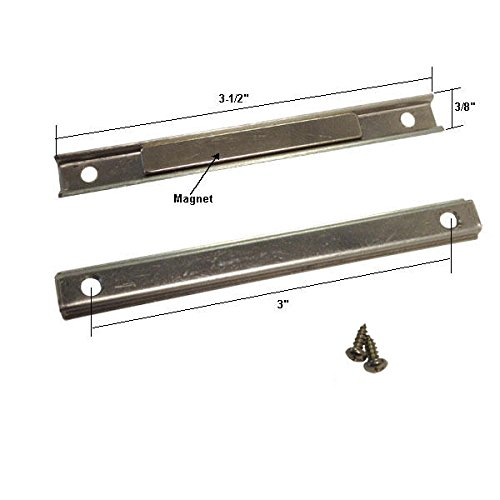 Shower Door Replacement Strike Plate with Magnet and Screws for Pivot Shower Doors - - Amazon.com  sc 1 st  Amazon.com : door magnet - pezcame.com