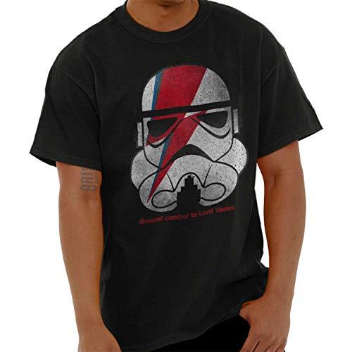 Brisco Brands Vintage Trooper David Bowie Dark Side Tee T-Shirt by Brisco Brands