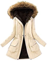 Winter Warm Coat Women Long Parkas Fashion Hooded Womens Overcoat Casual Cotton Padded et Mutil Colors