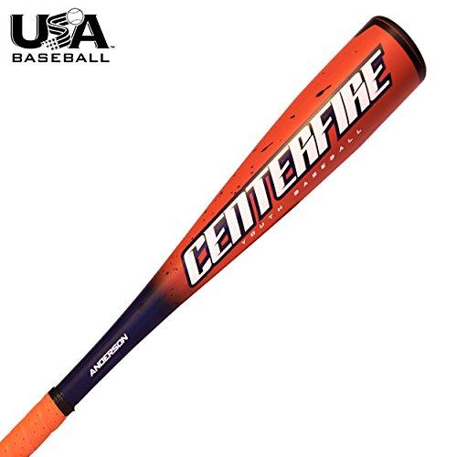 Anderson Bat 2018 Centerfire -11 Youth Baseball (USABat) (29 Inch/18 oz.) (League Grade Baseball Pony)