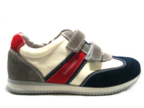 Nero Giardini Junior , Jungen Sneaker Marine bianco