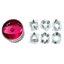 Wilton Round Linzer Cookie Cutter Set