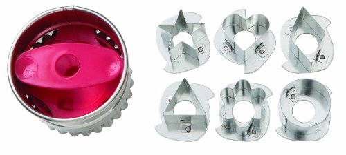 Wilton Round Linzer Cookie Cutter Set]()