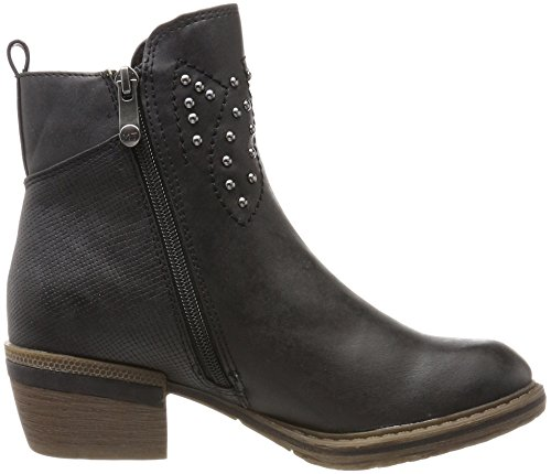 Mujer black Marco 25361 Botas Antic Negro Tozzi Para IT1Aq