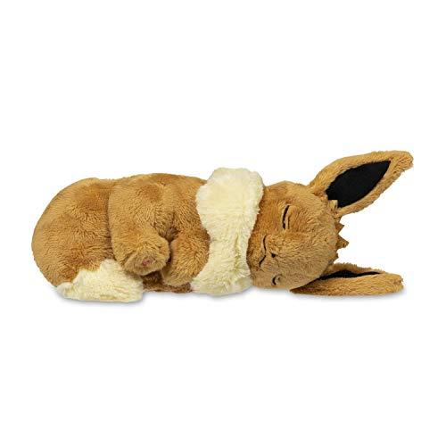 Eevee Pokemon Plush - Pokemon Sleeping Eevee Fluffy Plush