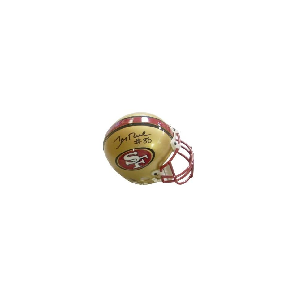 Jerry Rice Autographed/Hand Signed San Francisco 49ers Authentic New