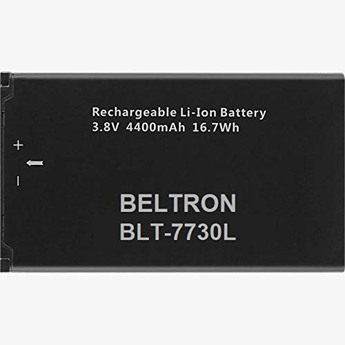 New 4400 mAh Replacement Battery for Novatel Jetpack MiFi 7730L Mobile Hotspot - P/N: 40123117 (Renewed) by BELTRON