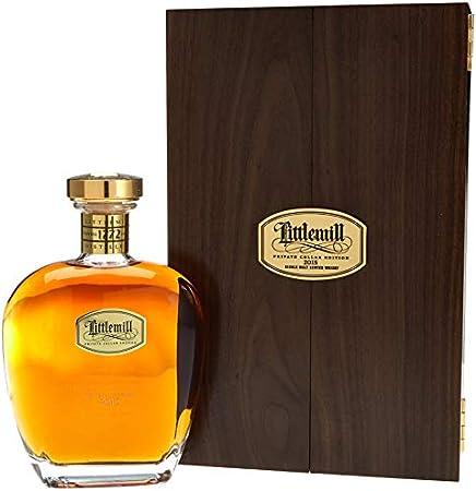 Littlemill Whisky escocés de malta 2015, 700 ml, 50,4% alcohol