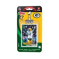This 27 card set is the Official Football Card Set of the Super Bowl.
