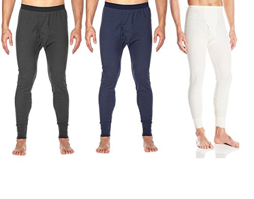 St. John's Bay Men's Thermal Underwear Pants Light Base Layer Long Johns