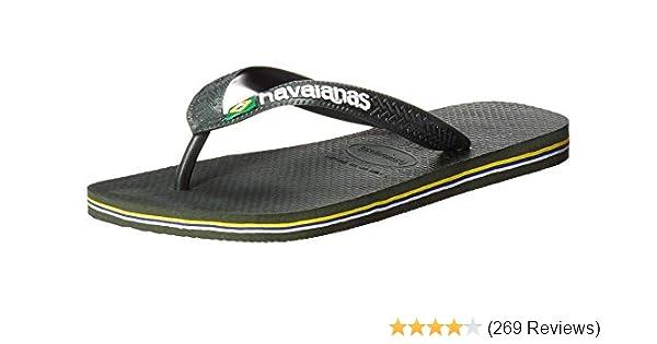 1d2260c47 Amazon.com | Havaianas Women's Brazil Logo Flip Flop Sandal | Flip-Flops