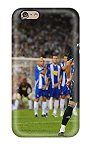 Awesome Design Huge Cristiano Ronaldo Real Madrid Hard Case Cover For Iphone 6