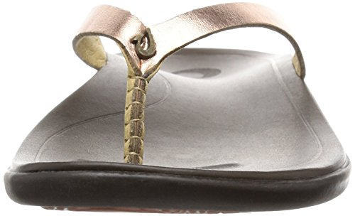 Java Copper Woman Multicolore copper Sandal jave Dark Cuivre Brown Olukai Hoopio qvxtZTww