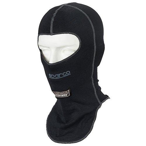 Sparco Mens Head Sock(Black, Adult), 1 Pack