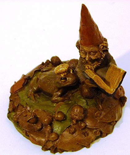 Tom Clark 1984 Gnome Hanson Reading a Book to The Frog Prince Made in USA