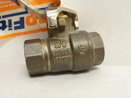 3//8 FNPT 600WOG Profitter 405167 Brass Ball Valve 150WSP