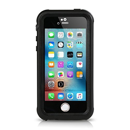 Waterproof Shockproof Dirt Proof Cover for iPhone SE/5S/5 (Black) - 7
