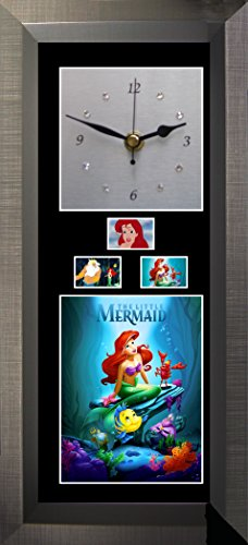 - FCD Little Mermaid - Silent Sweep Wall Clock with Swarovski Crystals.