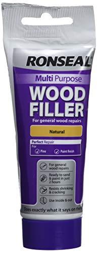 Ronseal RSLDC20ML 100g Multi-Purpose Natural Wood Filler Tube