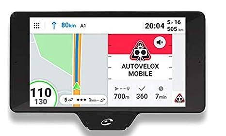 """Coyote Nav+ Fijo 5.5"""" Pantalla táctil 202g Negro navegador - Navegador GPS (14 cm"""