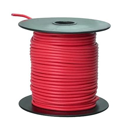 Southwire 55668023 Primary Wire, 16-Gauge Bulk Spool, 100-Feet, Red ...