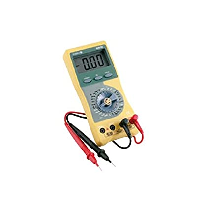 KM 05 Multímetro digital 1.000 VDC/750 VAC, 10 A, 200 M&#